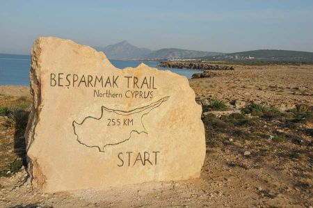 Nordzypern - Wandern entlang des Besparmak Trails