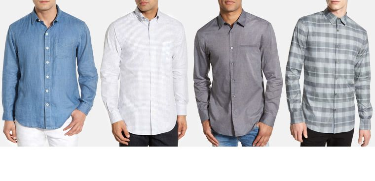 Men's casual button-down shirts: find your fit | Men's Sportswear ...
