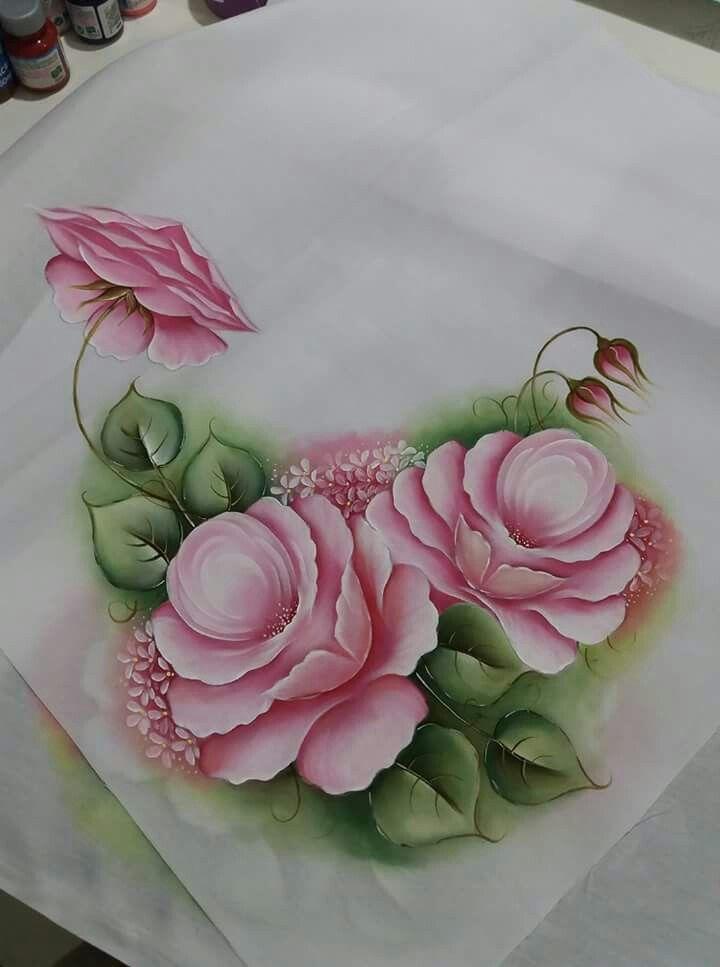 Pin de maribel lopez en los dibujos mas bellos pintura en tela pintar en tela y pintar - Como pintar sobre tela ...