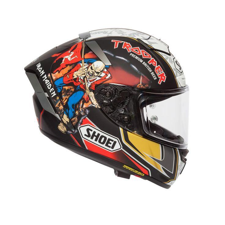 Shoei X Spirit 3 Hickman Trooper 2018 Replica Helmet Helmet Motorcycle Helmet Design Custom Motorcycle Helmets