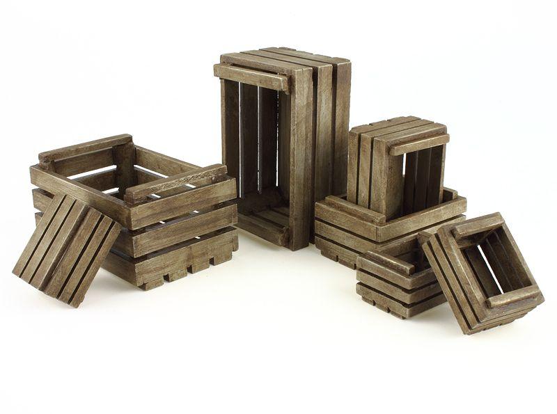 c7fab48f69b Cajones de madera policromada para el Belén