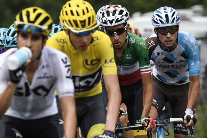 Mikel Landa Chris Froome And Fabio Aru Stage 17 Tdf 2017 Chris Froome Tour De France Lotto Soudal