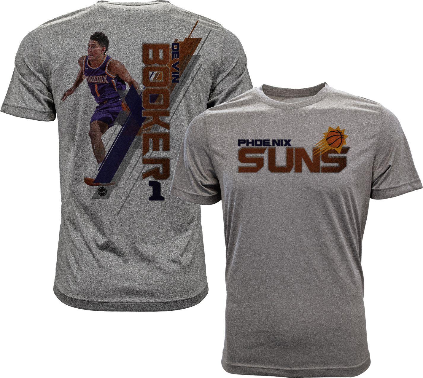 eff8944176a ... promo code for levelwear mens phoenix suns devin booker breakaway grey t  shirt size xxl team