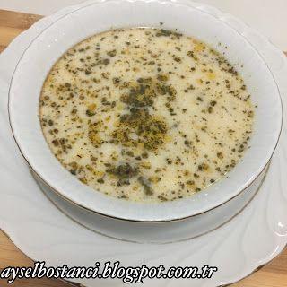 Aysel In Mutfagi Yarmali Yogurtlu Corba Gida Yemek Tarifleri Yiyecek Ve Icecek