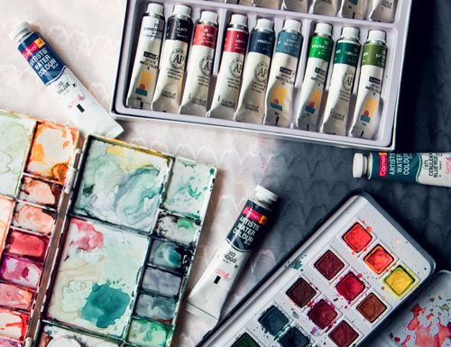 Watercolor Paint 101 A Crash Course In Using Watercolors Paint