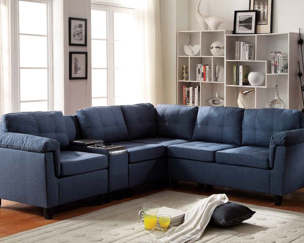 Best Get The Best Of 2016 Sofas Market Blue Reclining Sofas 640 x 480