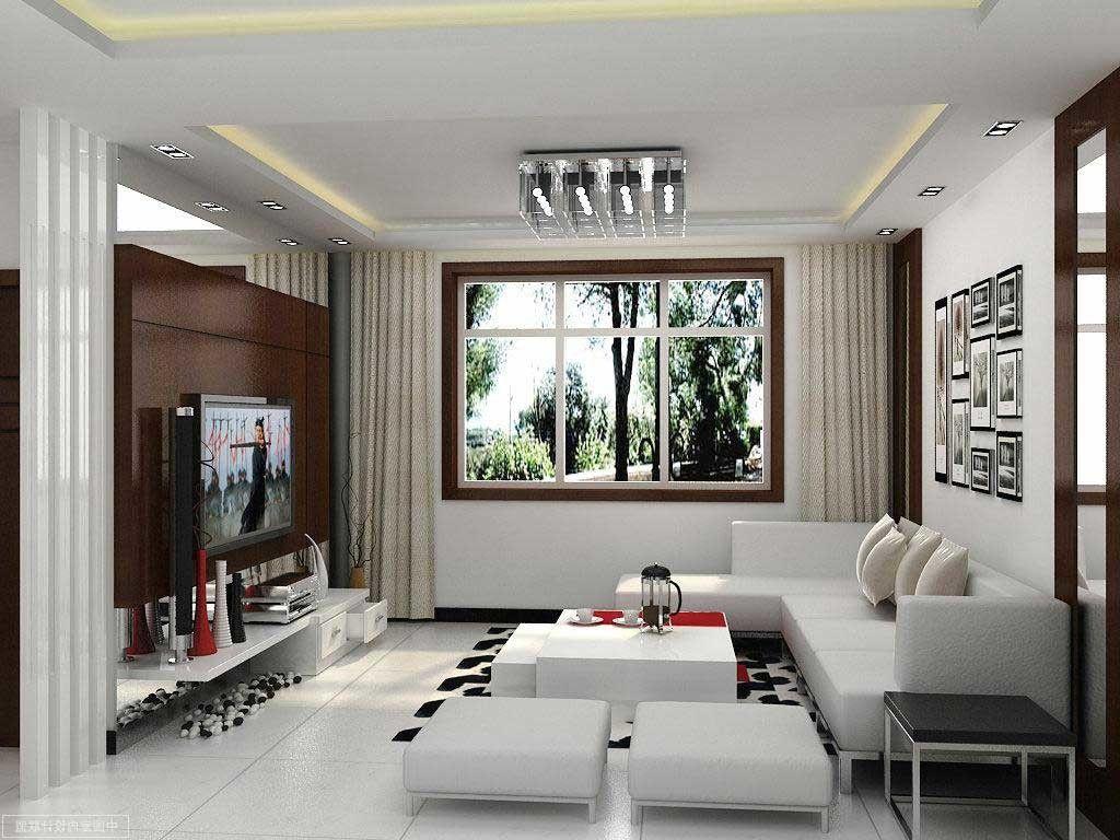 Desain Interior Rumah Minimalis Idaman Gambar Ruang Keluarga Nuansa Putih