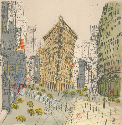 clare caulfield - flatiron building, new york