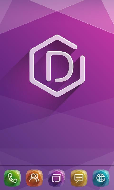 diamond GO Launcher Theme - screenshot | Icon-3D | Icon pack,roid