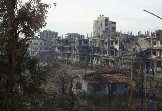 Siria se retrasa con el primer plazo de eliminación de su arsenal químico | Internacional | EL PAÍS