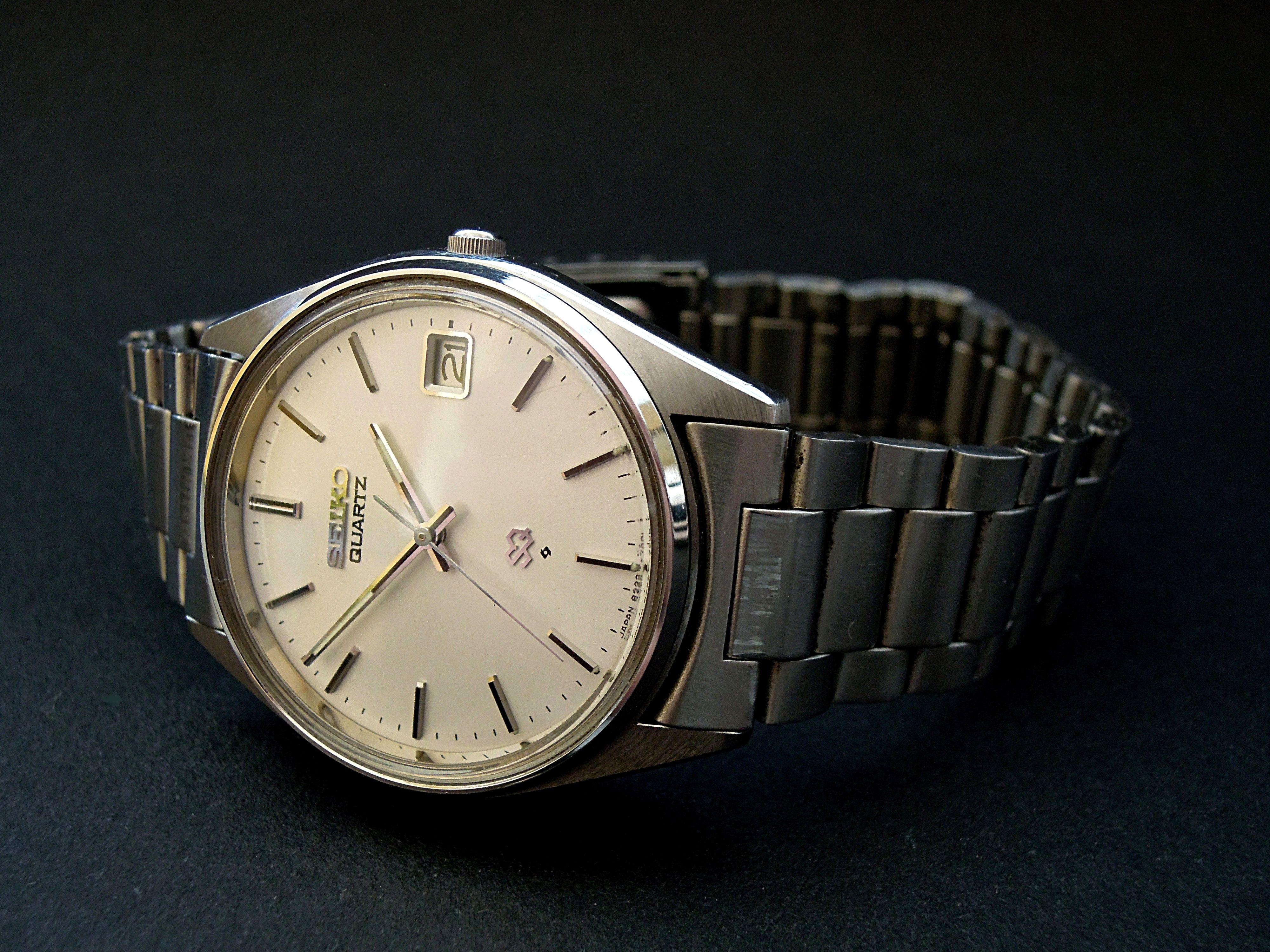best website d0851 7ec52 Seiko Quartz (1980)   Wrist Watch   Bracelet watch, Fashion ...