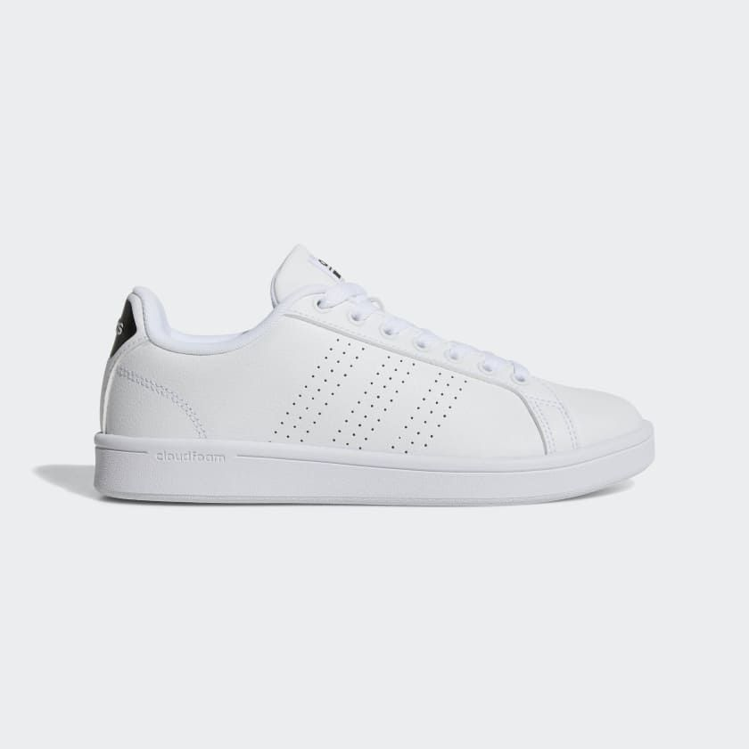 Cloudfoam Advantage Clean Shoes White AW4323 | White adidas ...