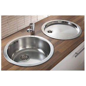 kitchen sink shapes larger bowl - Google Search | New Kitchen ...