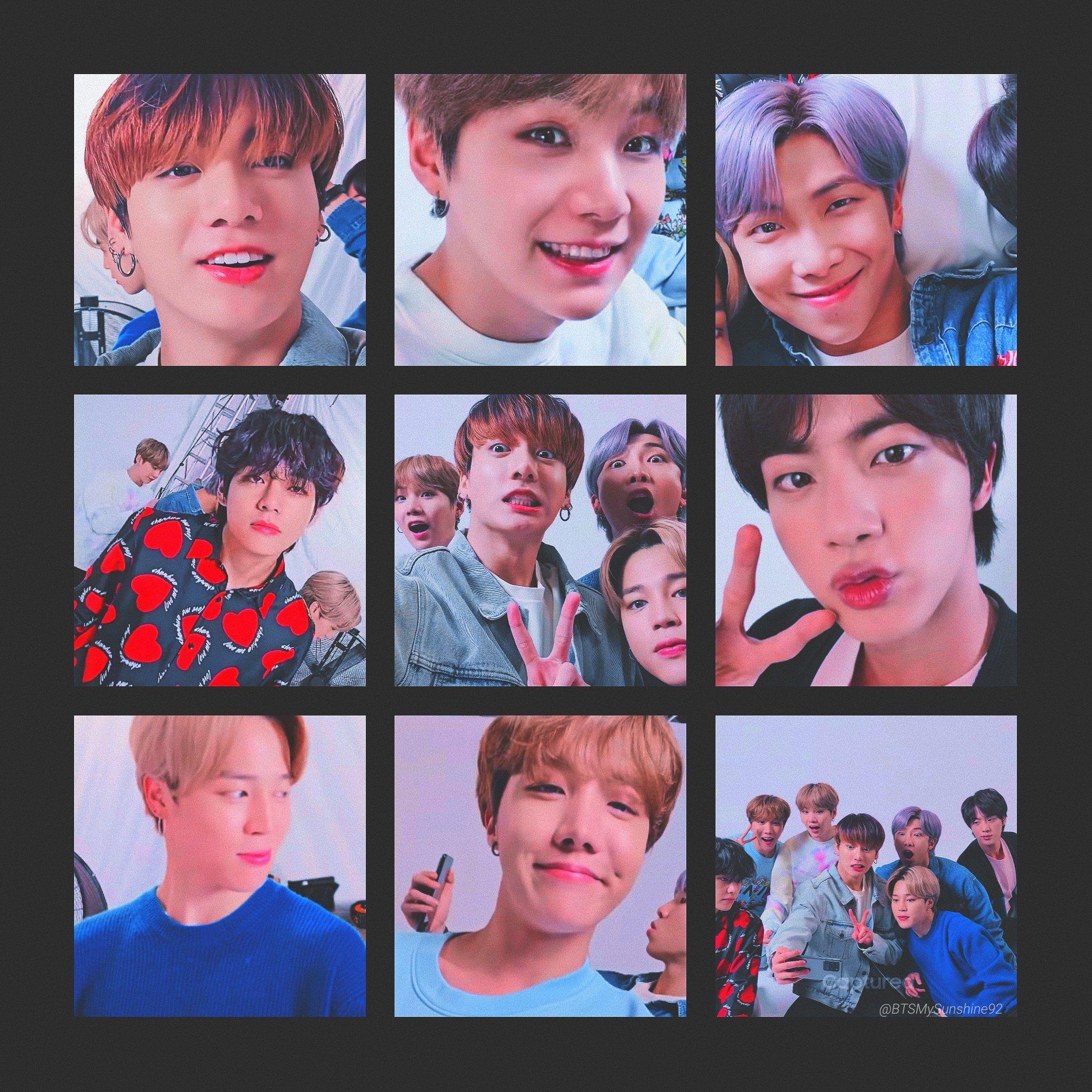 Wallpaper cute bts members