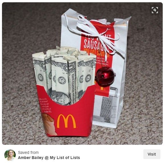 Fun Creative Ways To Give The Last Minute Gift Everyone Wants This Christmas Money Gift Creative Money Gifts Christmas Money