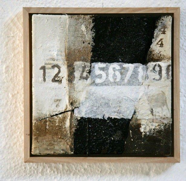 1234 - Michaela Mara #MixedMedia painting