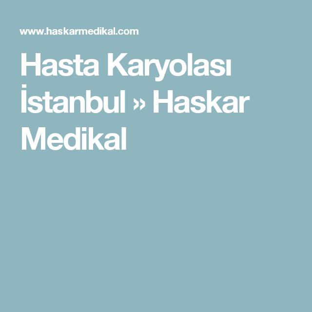 Hasta Karyolası İstanbul » Haskar Medikal