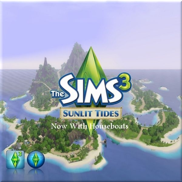 Jack's Creations@simtech - Sunlite Tides With Houseboats #Sims3
