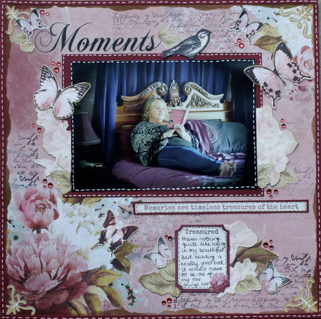 A Layout By Kelly Ann Oosterbeek Made Using The Ma Cherie Collection From Kaisercraft Www Amo Wedding Scrapbook Pages Scrapbook Page Layouts Wedding Scrapbook