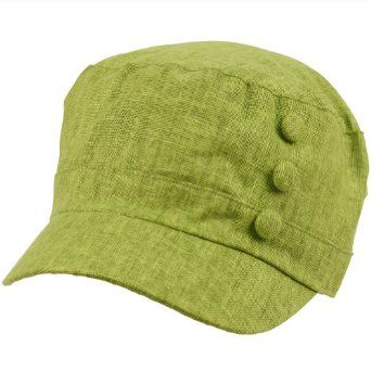 Summer Cool Military Cadet Castro 3 Button Floral Print Lining Hat Cap Olive SK Hat shop. $9.95