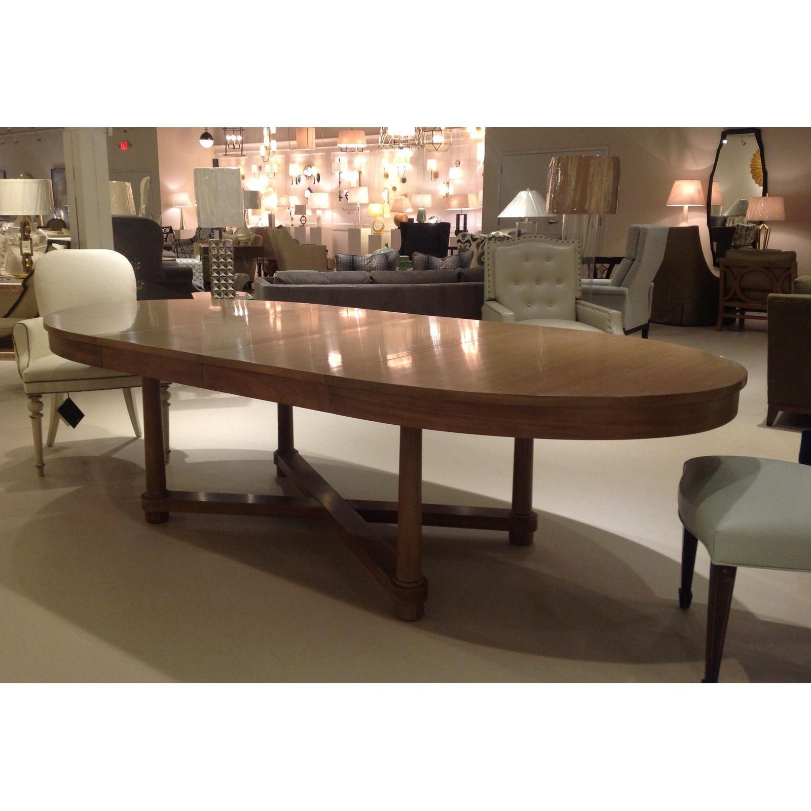 Barbara Barry For Baker Oval Dining Table Image 5 Of 5 Dining Table Dining Room Table Dining