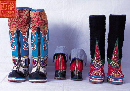 Tibetan Boots *