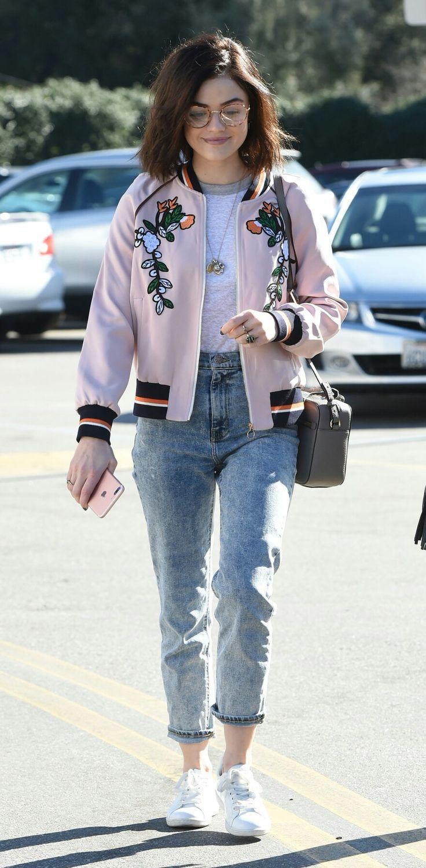 Lucyhale In Casual Wear 2020ave Style 2018 Pinterest Lucy Chocker Slice Top Blouse Baju Atasan Wanita Bl899