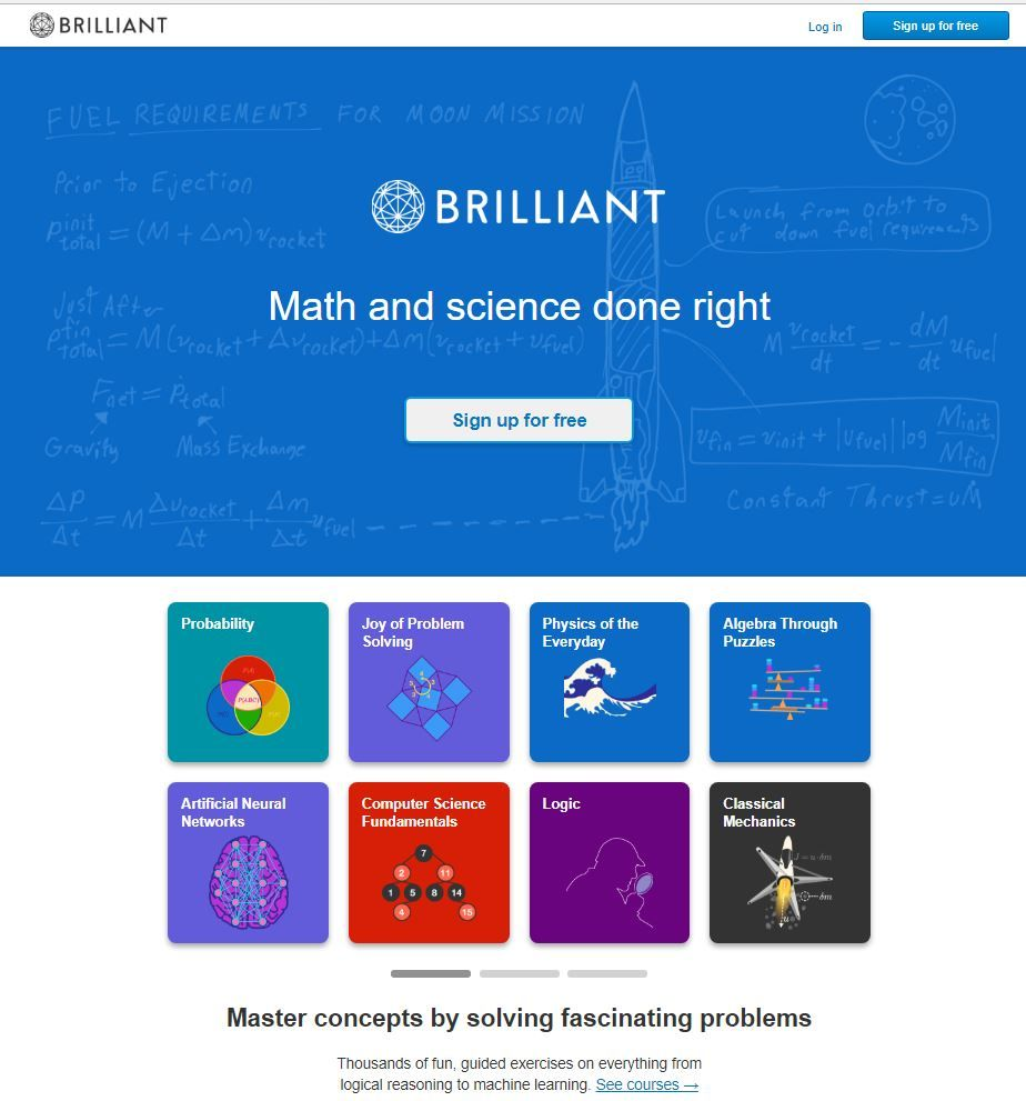 http://Brilliant.org Master concepts by solving fascinating problems ...