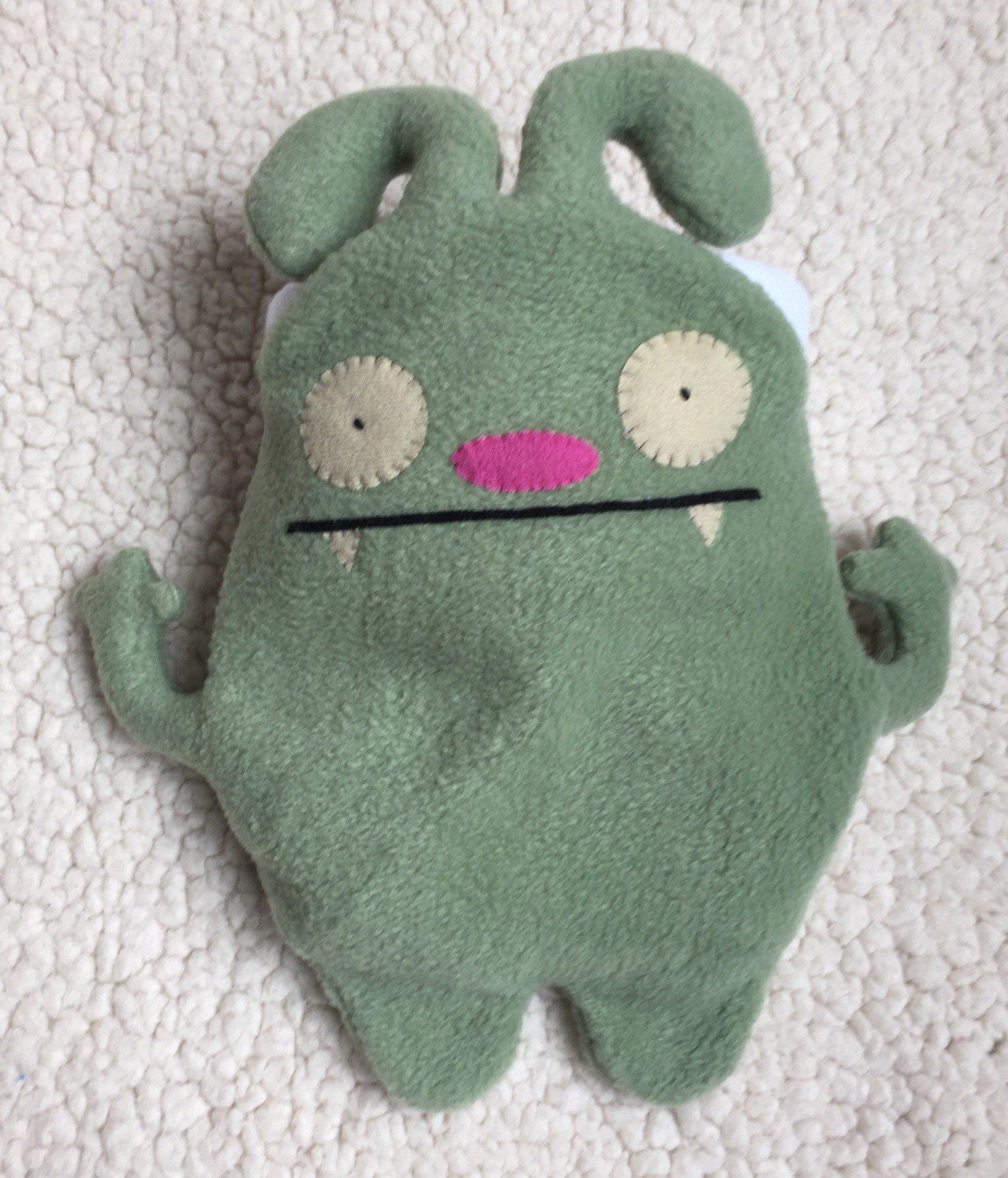 green monster chalk bag