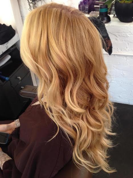 Light Strawberry Blonde Shade Match Girlgetglamoroushair