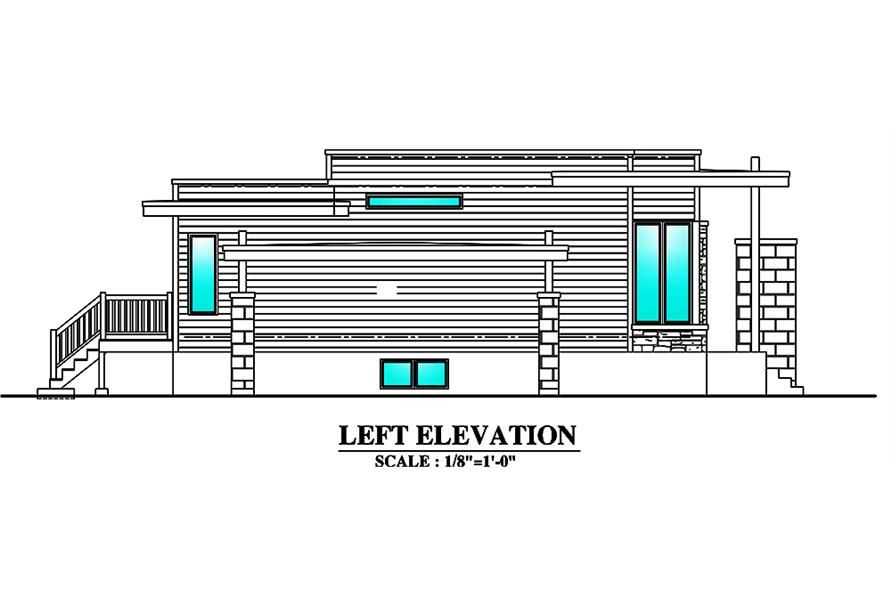 Modern Feng Shui House Plan - 3 Bedrms, 1 Bath - 1180 SqFt ...