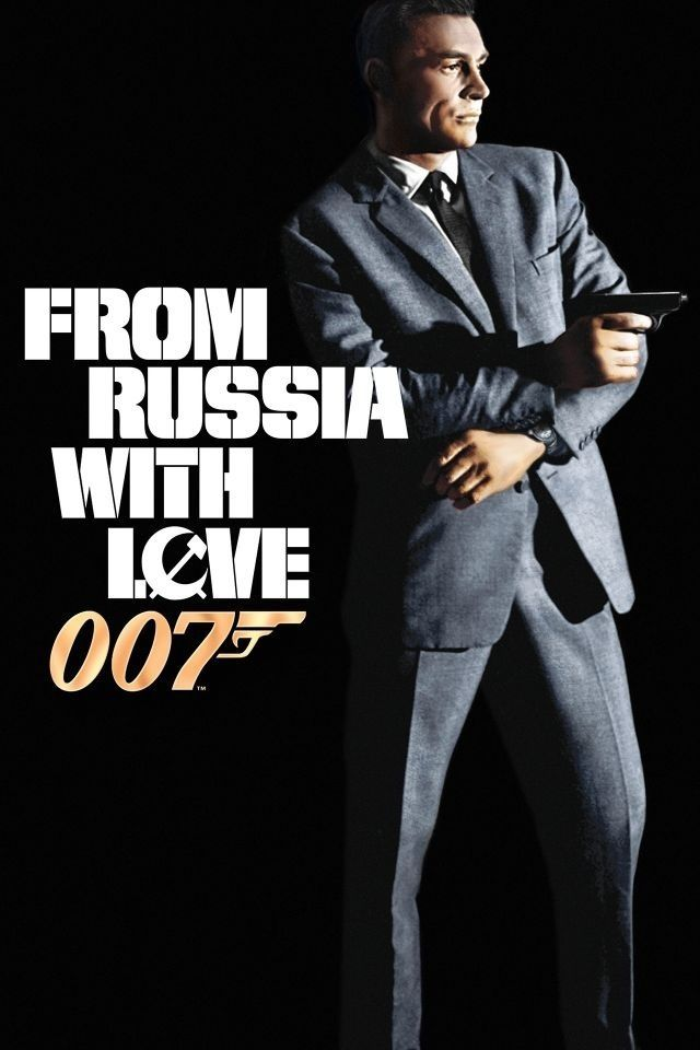 From Russia With Love Terence Young 1963 Dvd06565 James