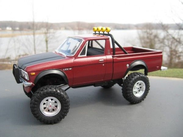 Chevy Luv 4x4 Model Cars Rcs Pinterest Chevy Chevy Luv And