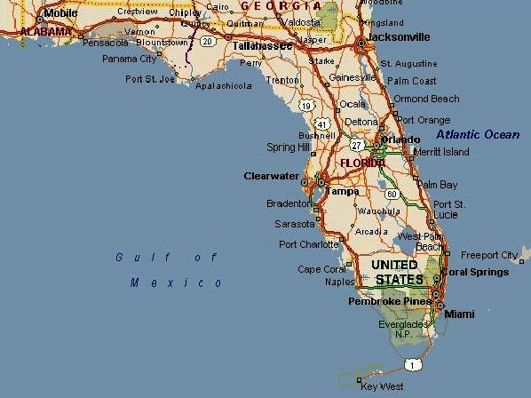 Orlando Florida Map Google.Florida Map Travel Places Places Ive Been Florida