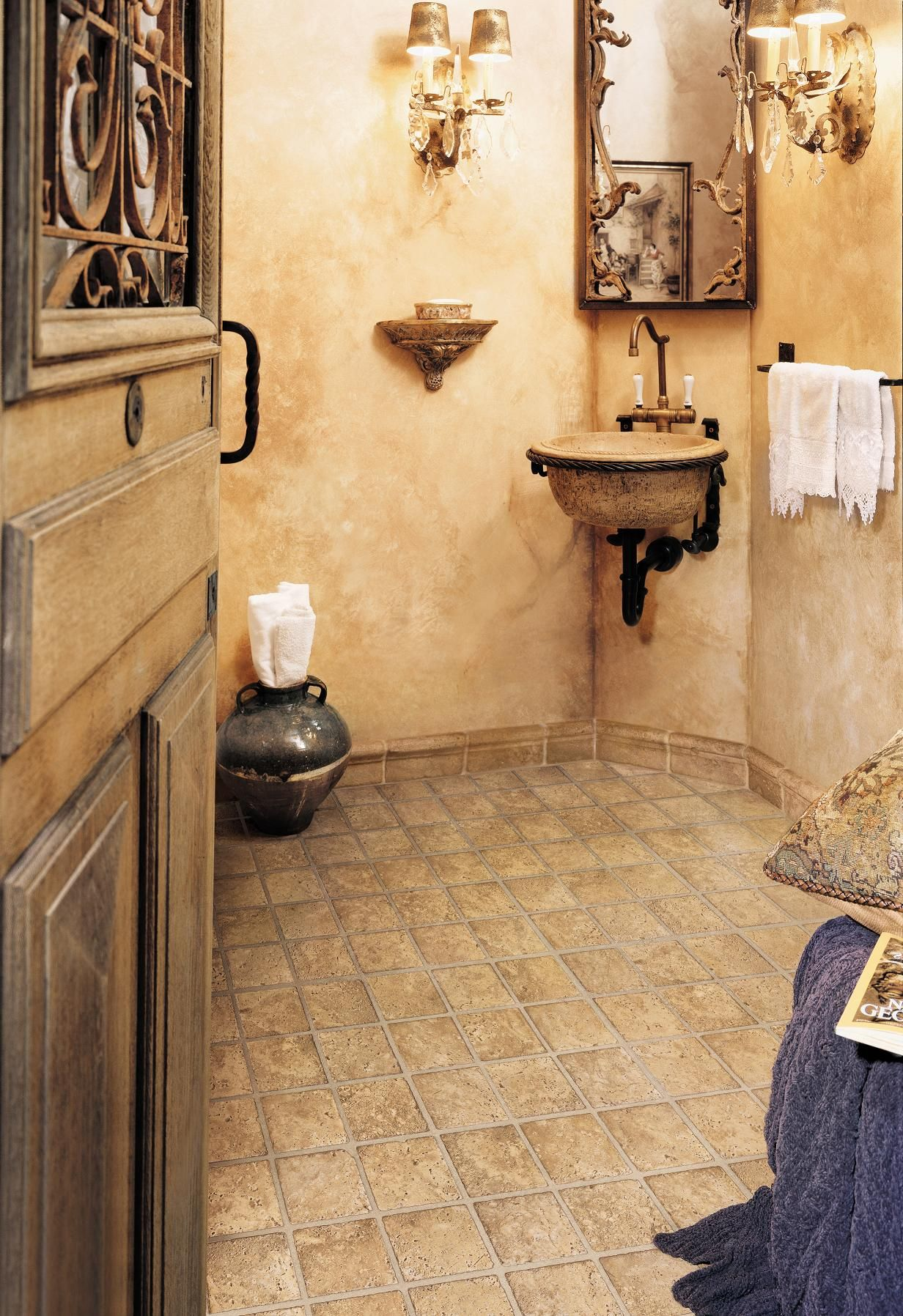 Mannington Sobella Vinyl | Vinyl | Pinterest | Bath, Powder room and ...