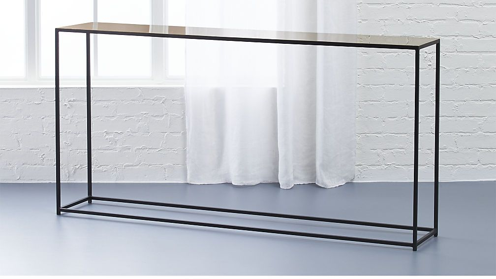 Nolita Console Cb2 This Is Pretty Sleek Too For The