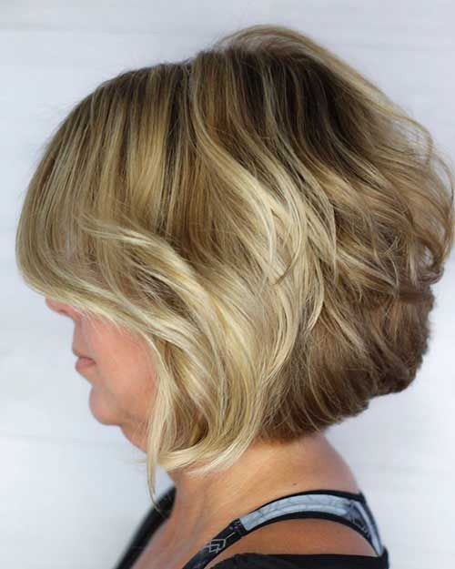 70 Best Short Bob Layered Haircuts For Women Over 50 In 2020 Short Layered Haircuts Layered Haircuts For Women Short Hair With Layers