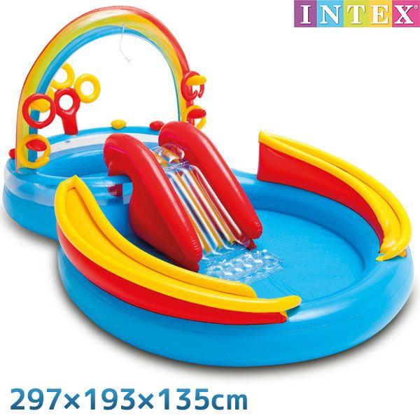 プール レインボーリング プレイセンター 297 193 135cm 対象年齢 3歳