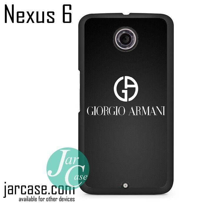 Giorgio Armani Black Logo Phone case for Nexus 4/5/6