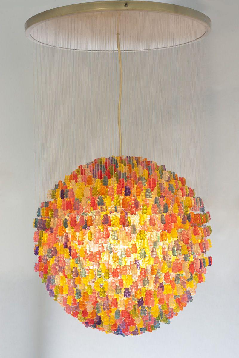 Gummy bear chandelier design pinterest chandeliers bears and gummy bear chandelier feel desain aloadofball Images