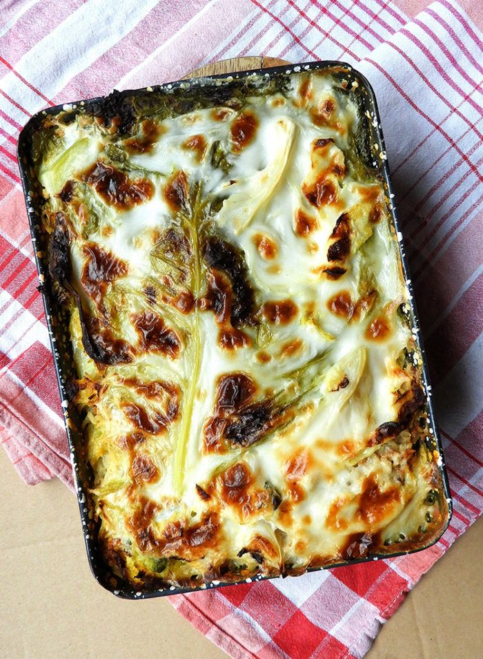 Vegan Hungarian Layered Kale Casserole