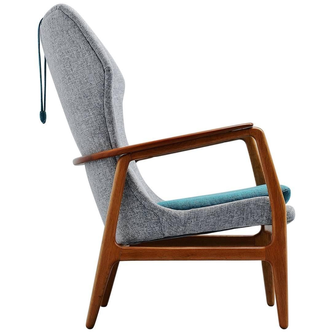 Aksel Bender Madsen Bovenkamp Wingback Chair Holland 1960 Modern Wingback Chairs Danish Furniture Design Teak Lounge Chair