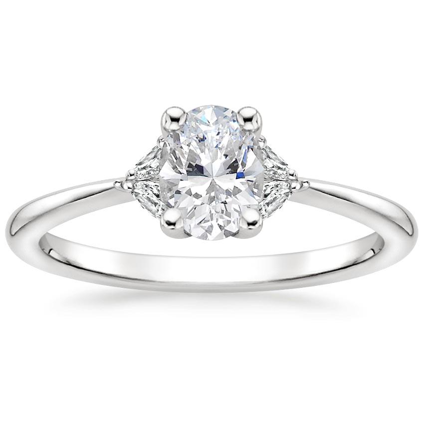 18K White Gold Faye Diamond Ring in 2020 White gold