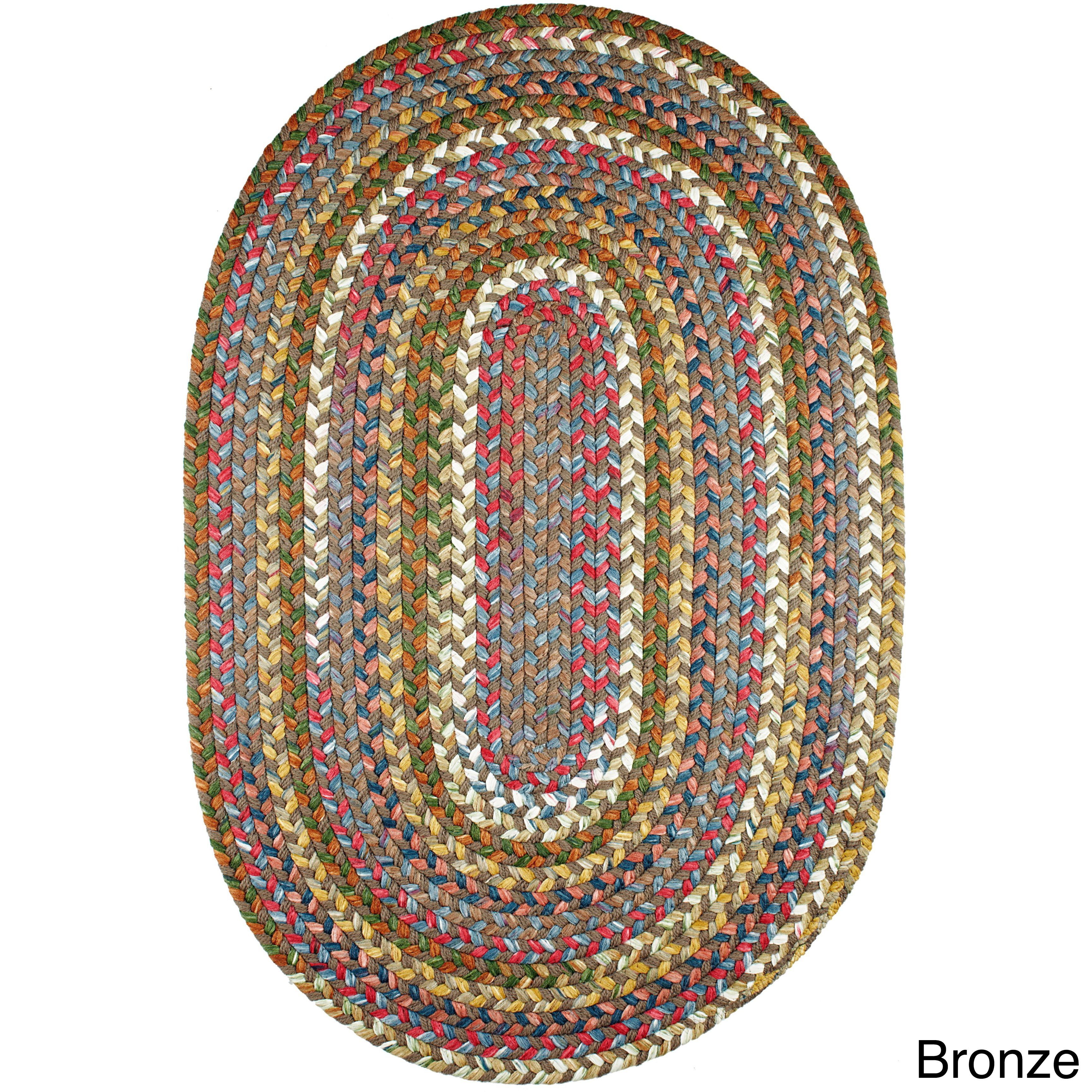 Charisma Indoor Outdoor Oval Braided Rug By Rhody 5 X 8