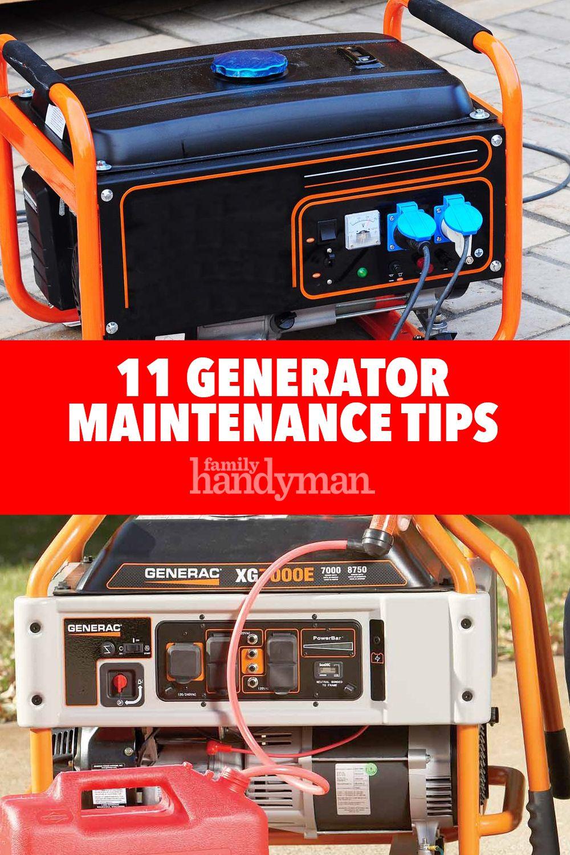Generator Maintenance Tips | Tips, Electronic media, Diy ...