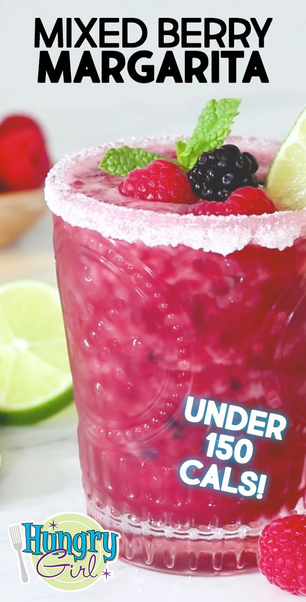 Photo of Low-Calorie Berry Margarita + More Blended Cocktail Recipes for Summer