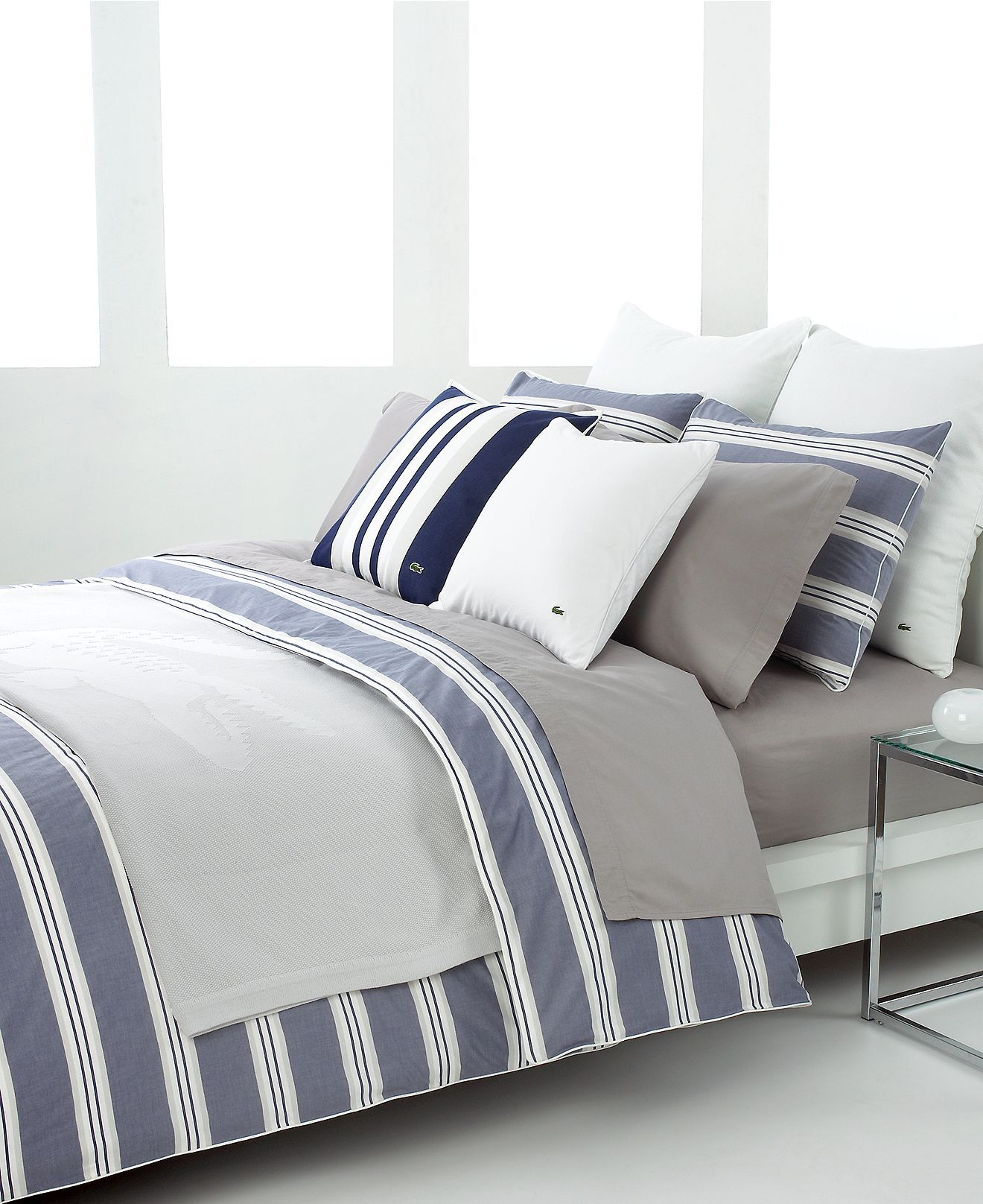 stripe lacoste topics home northpark center makeover bedroom blue cover posts with duvet