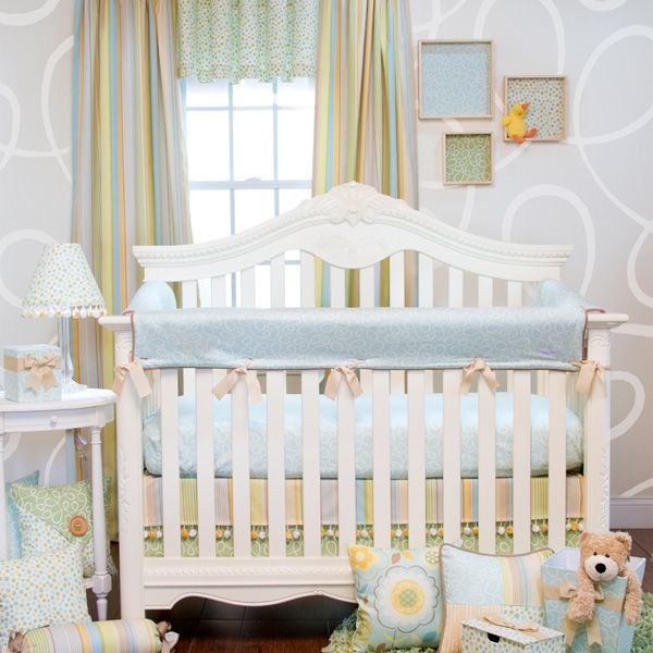 Harriet Bee Rollins 3 Piece Crib Bedding Set: Finley 3 Piece Set + Crib Rail Protectors