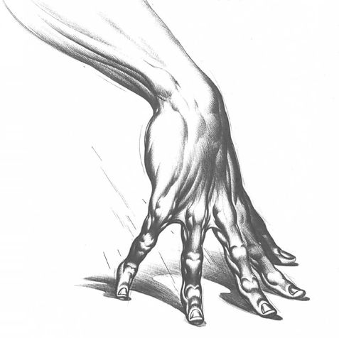 Burne Hogarth Drawing Dynamic Hands 35 Character Drawing