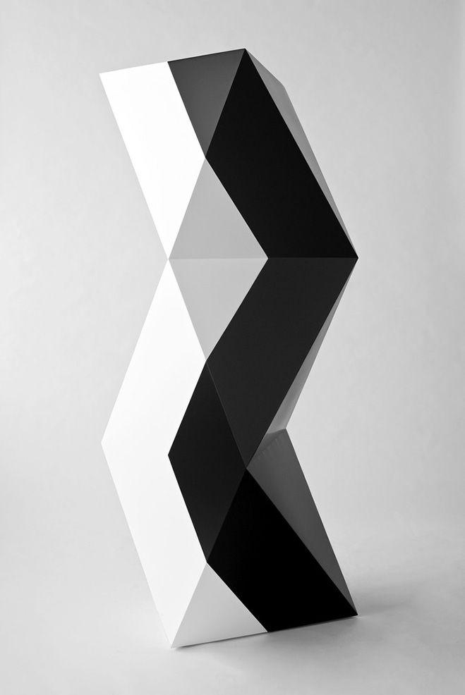 Cubic Geometry – Concrete Modular Sculptures by Artist David Umemoto – OEN